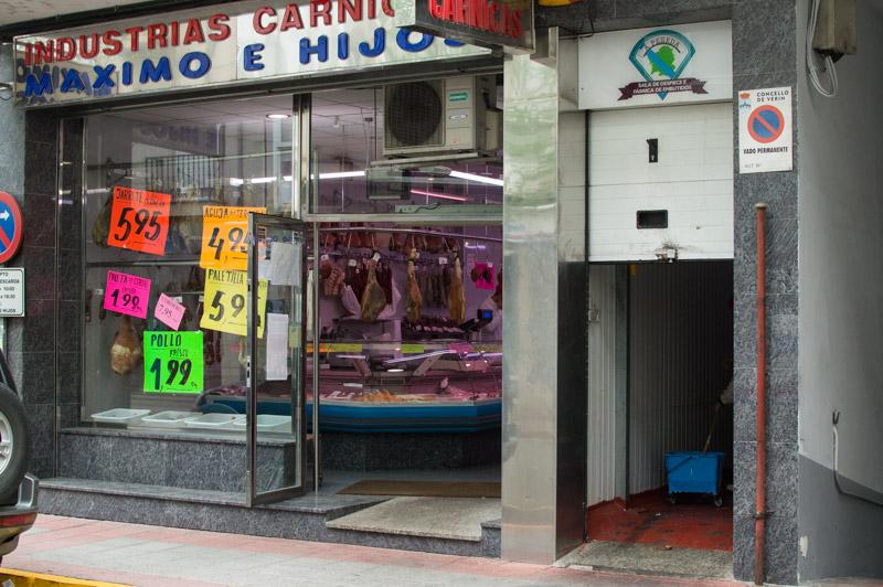 Carnicería Maxi Verín Calle Diputación